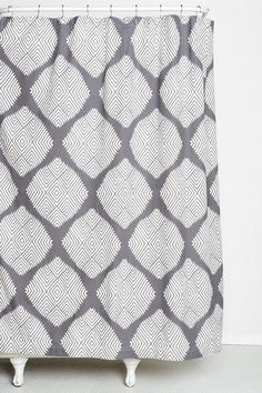 Magical Thinking Diamond Tile Shower Curtain - Urban Outfitters