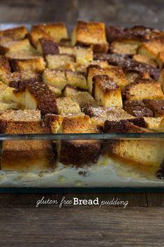 Gluten Free Bread Pudding