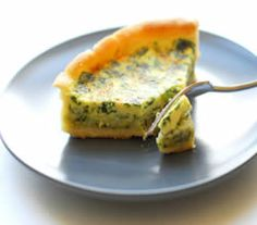 Herb & Mozzarella Quiche Recipe from our friends at Eggland's Best