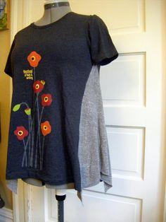 shellmo: DIY T-Shirt Redo!