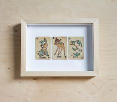 Cartes Bambi   leshappyvintage.fr