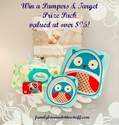 Win a Pampers & Target Prize Pack Valued at over $95! Ends 11/2 #Ad