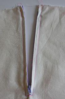 Sewing Your First Zipper- the centered zipper   Sewing Secrets - A Blog by Coats & Clark