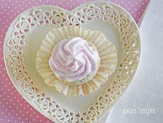 Sweet Light Angel Food Cupcakes with Meringue Icing - Why not make your Mom the sweetest, light and airy angel foods cupcake you'll ever taste!