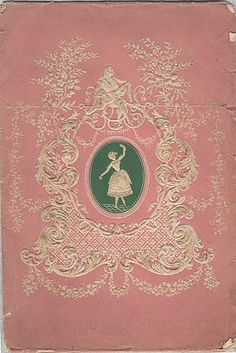 pink book with ballerina