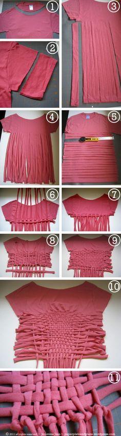 #So many DIY's on this blog :3  #Fashion #Nice #Beauty #T-Shirts www.2dayslook.com