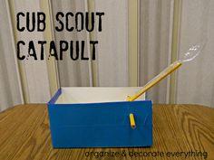 Cub Scout Catapult