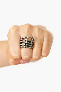 Skeleton Grip Ring