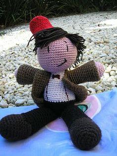 craft, 11th doctor, bow ties, doctor who, doctors, crochet patterns, knit patterns, matt smith, amigurumi patterns