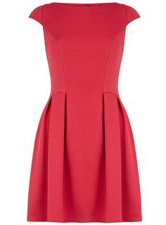 Dorothy Perkins Pink jumbo rib prom dress