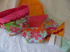 Diaper Bag Set for Large Baby Dolls Includes Bag by thatssewholly
