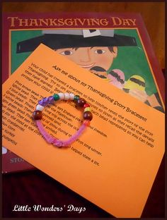 Thanksgiving story bracelets