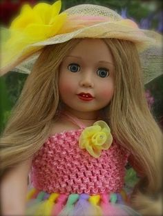 "18"" Harmony Club Doll, Cadence Rose. Visit her at www.harmonyclubdolls.com"