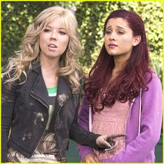 ariana grande sam and cat photos | Jennette McCurdy & Ariana Grande: Sam & Cat Premiere Pics!