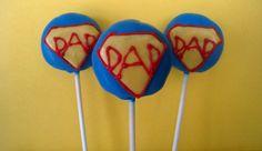 Super Dad Cake Pops