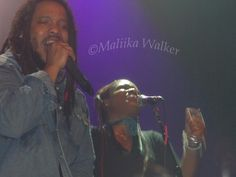 Love this image I took of Stephen Marley and Erica Newell