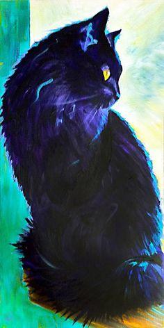 "Steve Gamba; Acrylic, 2012, Painting ""Smurphy"""