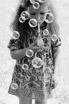 bubble blowing,,,luv it : )))