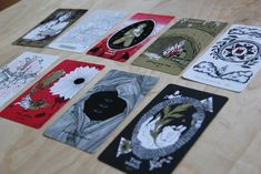 Slow Holler tarot deck – collaboratively imagined and illustrated by folks with queer identities or southern ties or both #tarot #slowholler