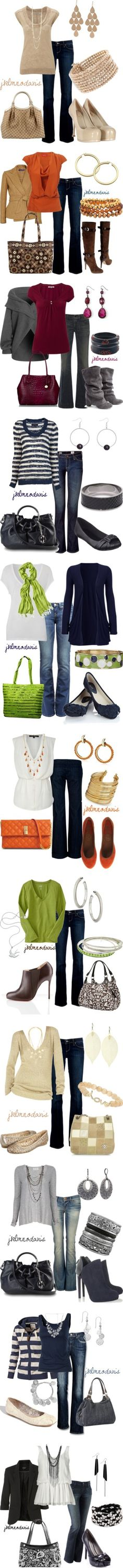 Great fall outfits!