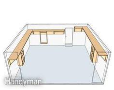 build storage in your garage