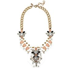 Jeweled plates necklace A Very Secret Pinterest Sale: 25% off any order at jcrew.com for 48 hours with code SECRET.