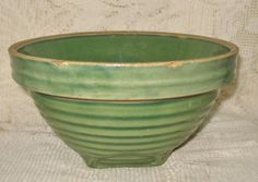 Early Green Pottery Mixing Bowl, I have this bowl.  I love it.