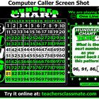 Hundred Chart Bingo is designed for students in the 2nd and 3rd  grades. It features a Computer Bingo Caller option to make your classroom more int... student, chart bingo, hundreds chart