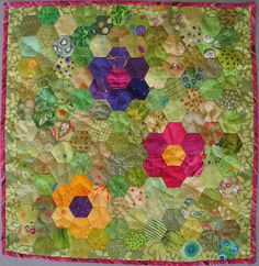 Hexie quilt square