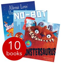 Monsters & Aliens Story Collection - 10 Books - Collection - 9781471119606 - Various