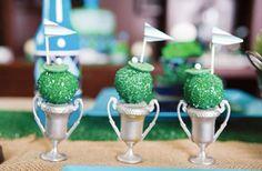 golf cakes, cake pops, golf parti, cakepop, party cakes, parti idea, parti hardi