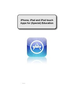 Apps for kids with special needs!