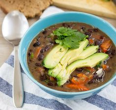 Spicy Black Bean Sou