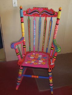 A recycled rocker