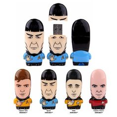 Chris loves Star Trek and this would be a fun gift idea for Christmas