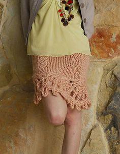 Ravelry: Metropolitan Diary Skirt pattern by Wenlan Chia