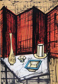 Painting by Bernard Buffet