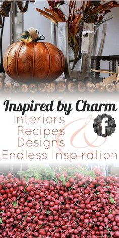 Join Michael Wurm, Jr and Inspired by Charm on Facebook for more ideas, recipes, and inspiration. Share your ideas and thoughts too! I'd love to hear from all of you. www.facebook.com/...