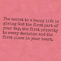 Happy life.