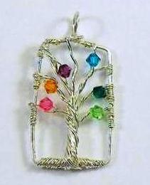 Tree of Life Pendant Tutorial  (DIY mommy jewelry!)
