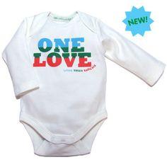 Fairtrade Certified Organic cotton Baby Body - Bob Marley