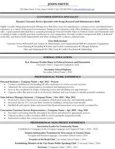 best customer service resume templates sles on