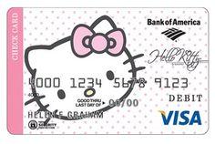 CREDIT CARD HELLO KITTY | Hello Kitty Credit Card