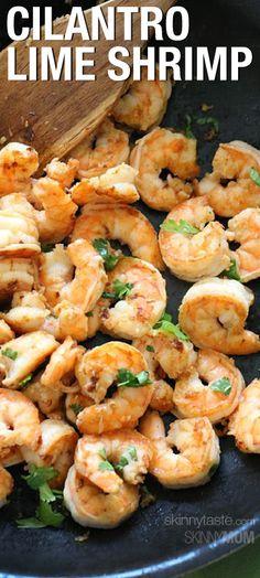 cook, seafood, cilantro shrimp, eat, cilantro lime, lime shrimp, yummi, recip, limes