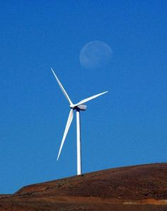 Wild Horse Wind Farm ... Puget Sound Energy Facility outside of Ellensburg, Washington