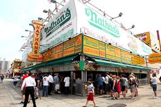 nathan coney, nathan famous, islands, travel, special place, coney island, hot dogs