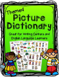 Picture Dictionary for Writing Center! Enter for your chance to win 1 of 3.  Picture Dictionary for Writing Center (28 pages) from The Reading Fairy on TeachersNotebook.com (Ends on on 10-24-2014)  This themed picture dictionary is perfect to put in writing centers or writing stations. It helps students brainstorm writing topics and helps them spell the words they are writing about. The picture dictionary is also great for english language learners and great for teaching vocabulary.