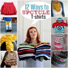 Upcycled T-shirt Ideas