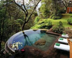 35 Inspiring and Eye Catching Backyard Pool Landscaping Ideas : Small Pool Design For Small Backyard Pool Landscaping Ideas