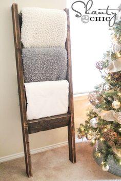 $10 Blanket Ladder